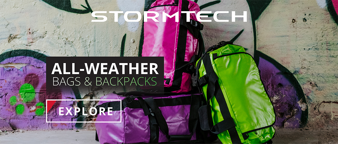 All-weather bags & backpacks