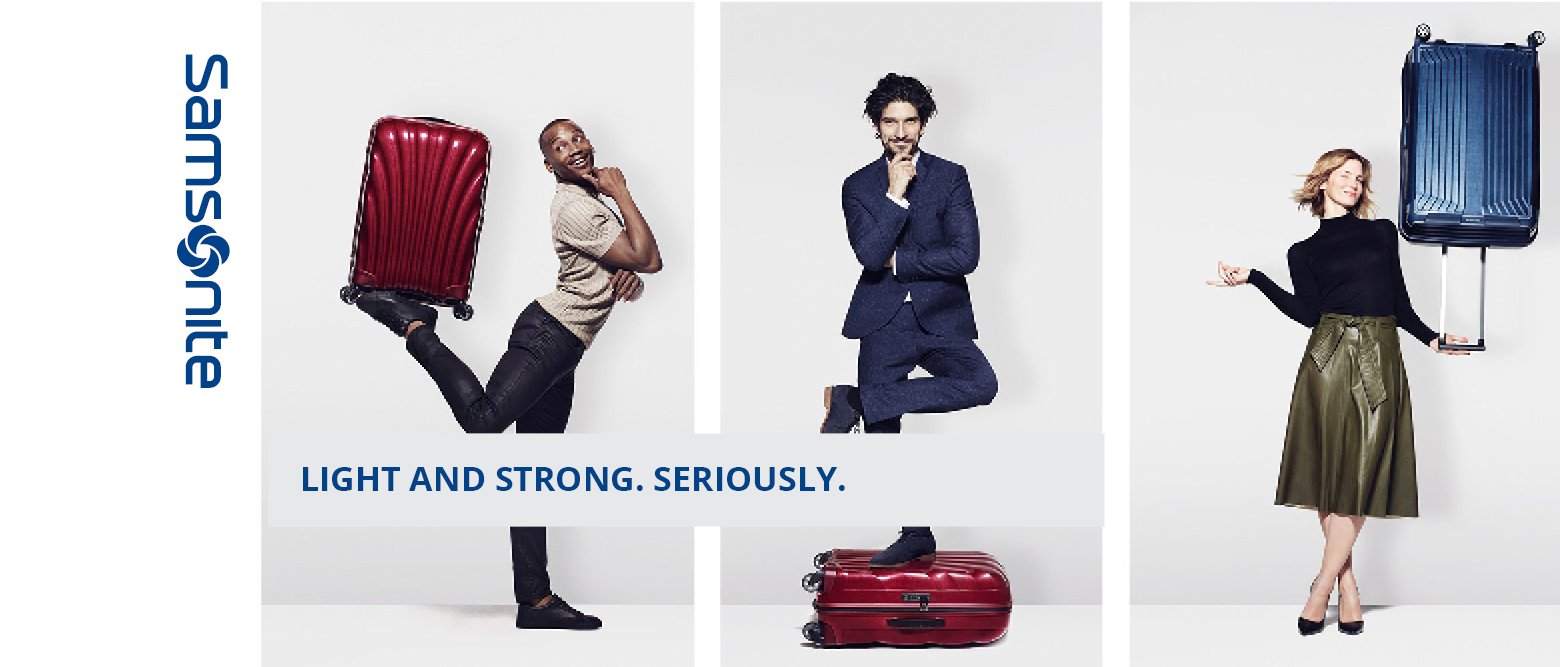 Samsonite-Light and strong
